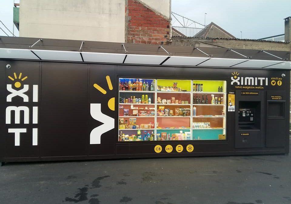 Ouverture d'un nouveau magasin automatique à Aubervillers