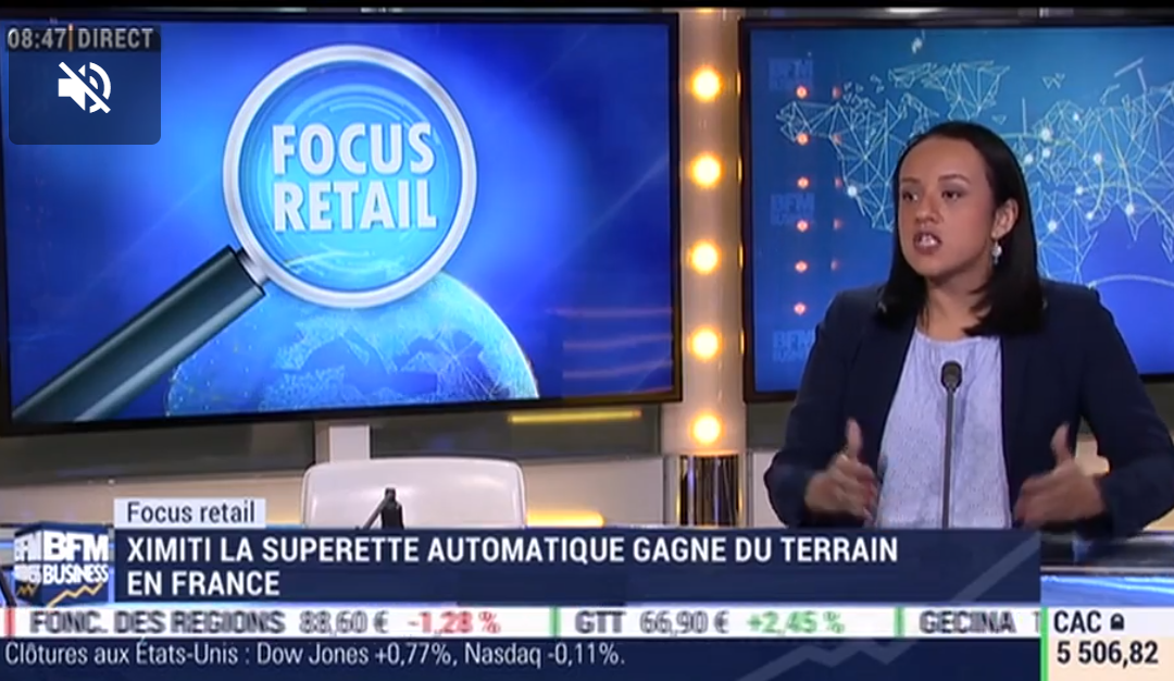 BFM Business : Focus Retail: La supérette automatique Ximiti gagne du terrain en France