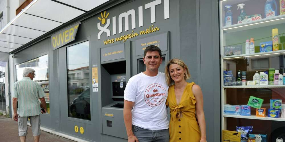 Ximiti, le robot épicier / L'épicier du futur